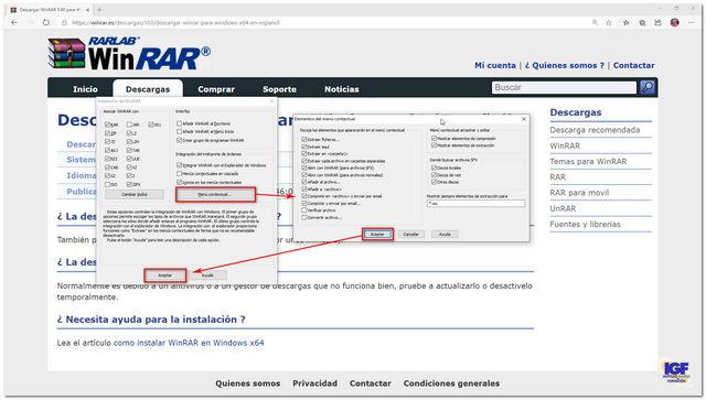 Configurar Winrar - igf.es