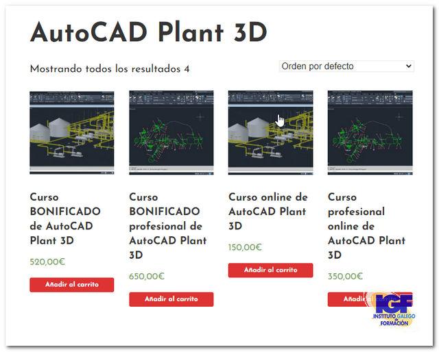 Cursos de AutoCAD Plant 3D