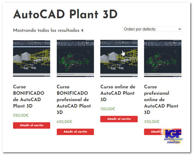 Cursos AutoCAD Plant 3D