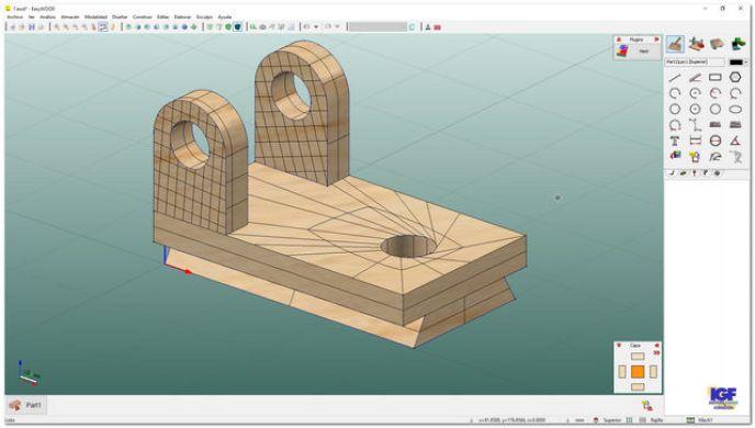 Tarea sólidos 3D del curso EasyWOOD