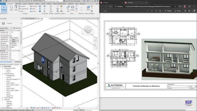 Tareas planos cursos Autodesk Revit - igf.es