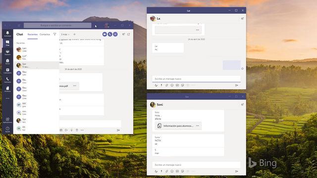 Ventanas emergentes en Microsoft Teams - igf.es