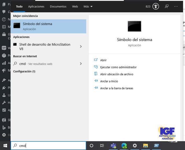 Atajo de teclado en Windows 10 buscar - igf.es