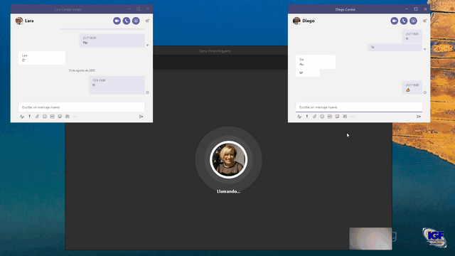 Nueva experiencia con Microsoft  Teams