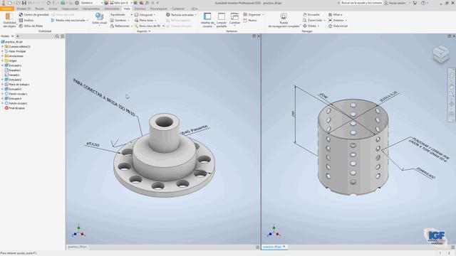 cursos bonificados Autodesk inventor 2021