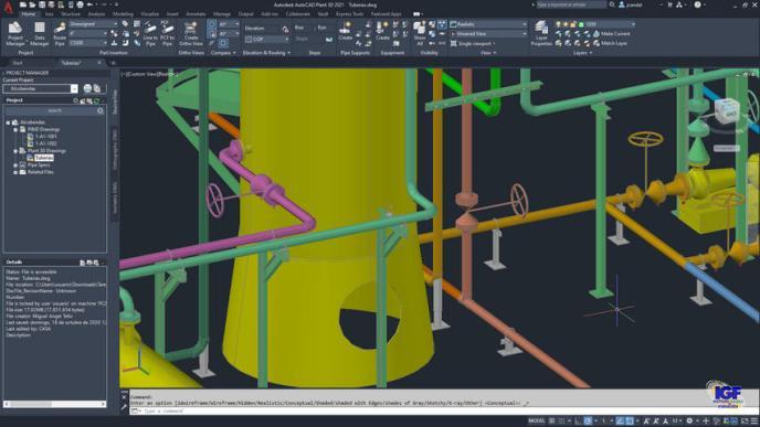 Curso AutoCAD Plant 3D premium bonificado - igf.es