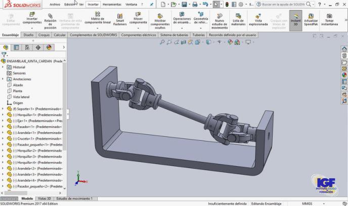 Curso plus de SolidWorks bonificado - igf.es