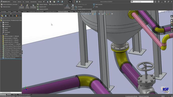 Curso plus SolidWorks Routing - igf.es