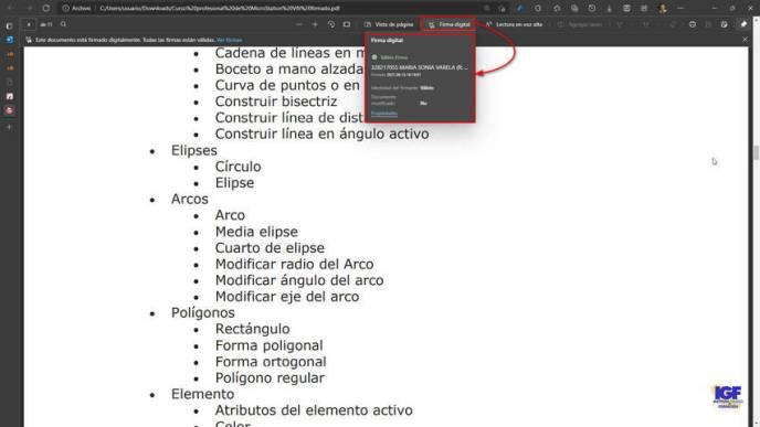 Certificados digitales Microsoft Edge - igf.es