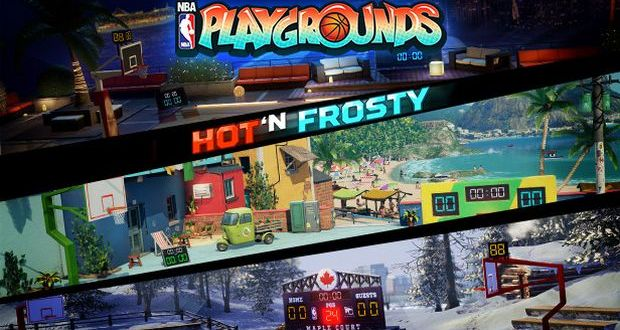 NBA Playgrounds Hot 'N Frosty Free Download