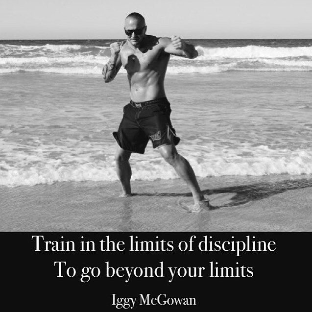 Train In The Limits Of Discipline To Go Beyond Your Limits