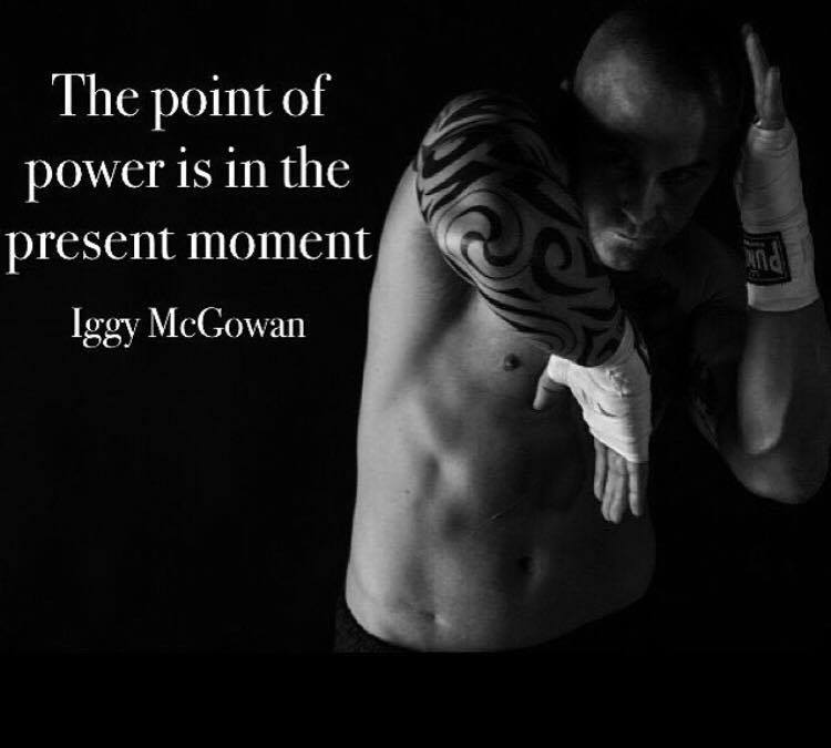 The Point Of Power Is In The Present Moment
