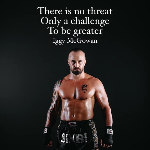 There Is No Threat Only A Challenge To Be Greater