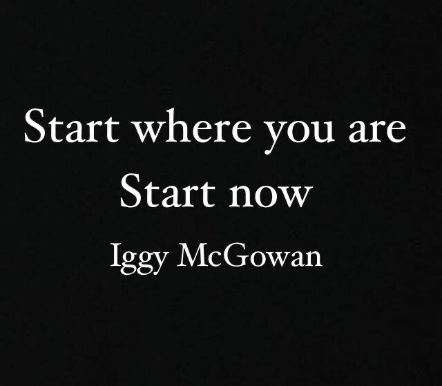 Start Where You Are Start Now