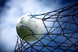 Soccerball Breaking Net