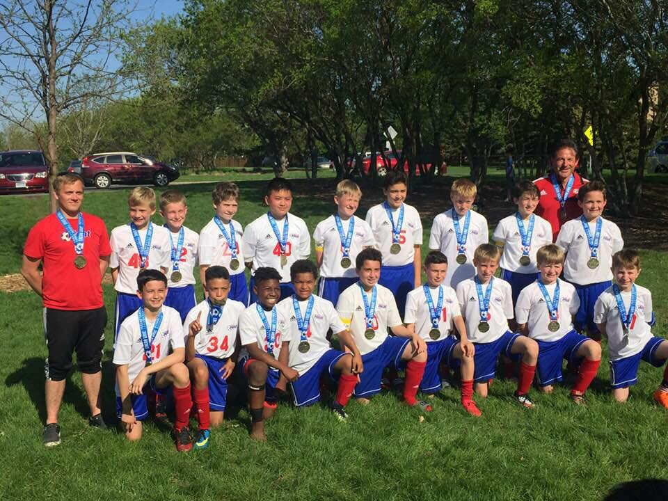 Congrats to the U13 Heat boys — 1st place at the Eagan Wave tournament!!