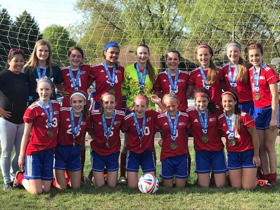 Congrats to the U14 C1 Heat Girls who took first place at the Eagan Future Stars Tournament!
