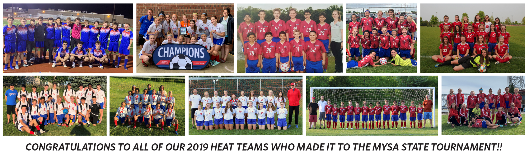 2019 HEAT Teams going to State !
