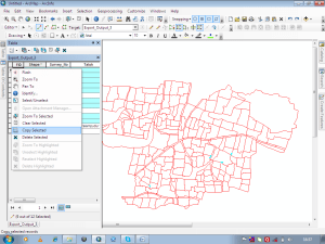 remove gaps from a polygon layer file in ArcGIS: Copying gap polygon to main file.