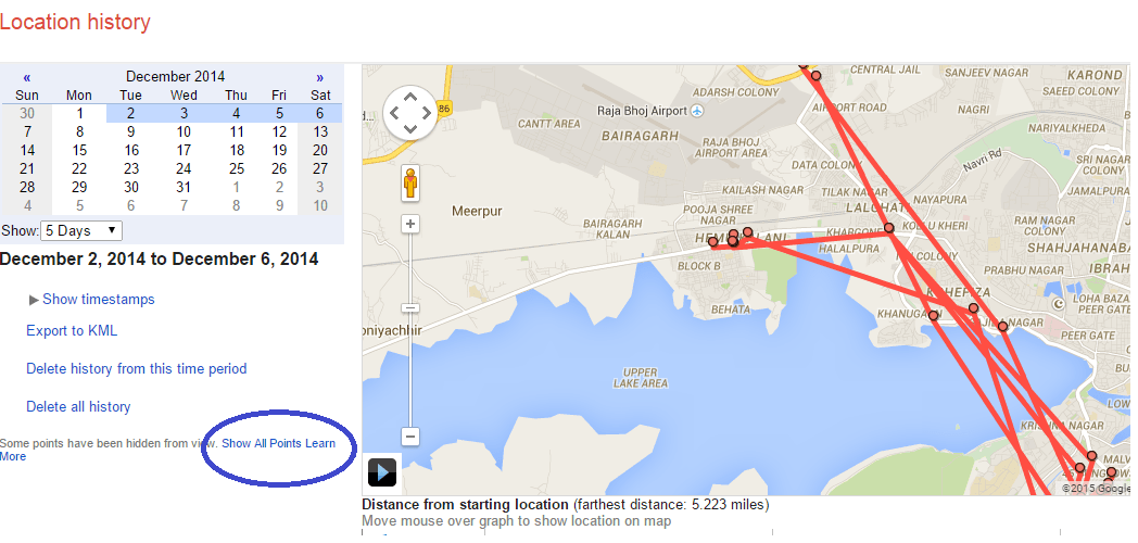 Find Out Your History Location From Google Map Track Export And - Google map location history