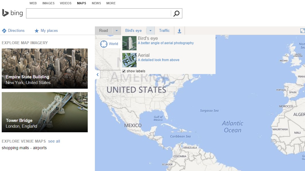 8 best alternative to google maps classic old map gis map info bing maps alternative to google maps classic old map gumiabroncs Gallery