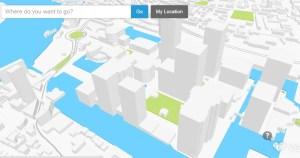 Vizicities 3D map