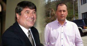 Ion Ruşeţ, liderul PDL Gorj şi Adi Câmpeanu, primarul localităţii Runcu