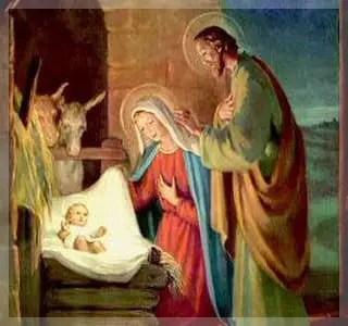Misterios gozosos El nacimiento del Hijo de Dios  Santo