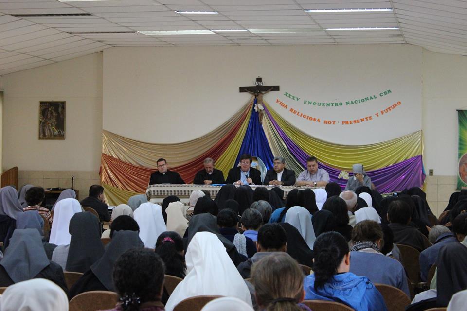 Inauguración del XXXV Encuentro Nacional de la Vida Religiosa en Bolivia