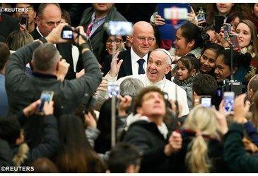 Papa en Audiencia