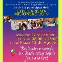 Expo Carisma Misionero en el Santuario de Urcupiña