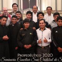 Seminario San Cristóbal concluye año propedéutico