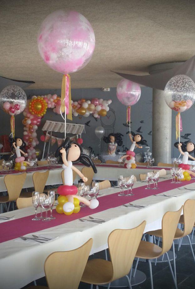 Globos a domicilio Decoraciones y servicios con globos