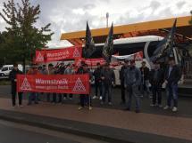 Foto Warnstreik Schlosserhandwerk 01.10.2019 in Emsdetten (1)