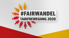 #Fairwandel – M&E Tarifbewegung 2020