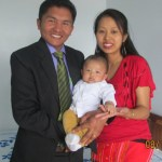 Ninglum Wungkhai and Family, Vision2020Asia