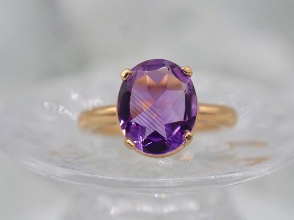bague violet