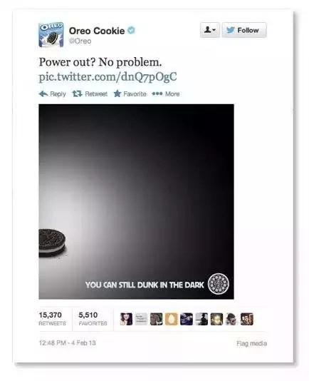 Marketing con Humor en la Super Bowl con Oreo