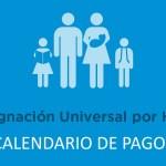 Asignación Universal por hijo Calendario de pago Octubre 2018