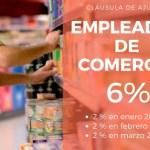 Empleados de Comercio claves del acuerdo enero 2018 Cláusula Gatillo