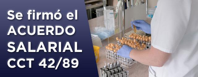 Sanidad CCT 42/89 FATSA Acuerdo y escala salarial