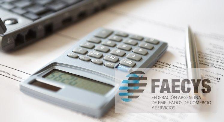 La FAECYS publicó las escalas salariales Empleados de Comercio para Octubre, Noviembre 2018 y Enero 2019.