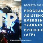 ATP Salarial Complementario REPRO II inscripción