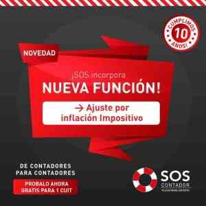 SOS Contador Ajuste por Inflación Contable