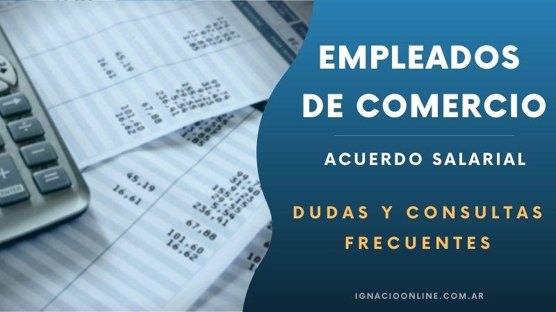 Empleados de Comercio: Dudas y consultas frecuentes sobre el último acuerdo
