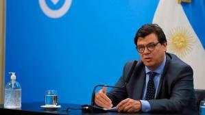 Ministro de Trabajo Claudio Moroni