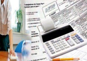 Trabajadores de Casas Particulares. Vencimiento e importes a ingresar para el período septiembre/2015Aportes y contribuciones Servicio domestico rt 102 rt 575