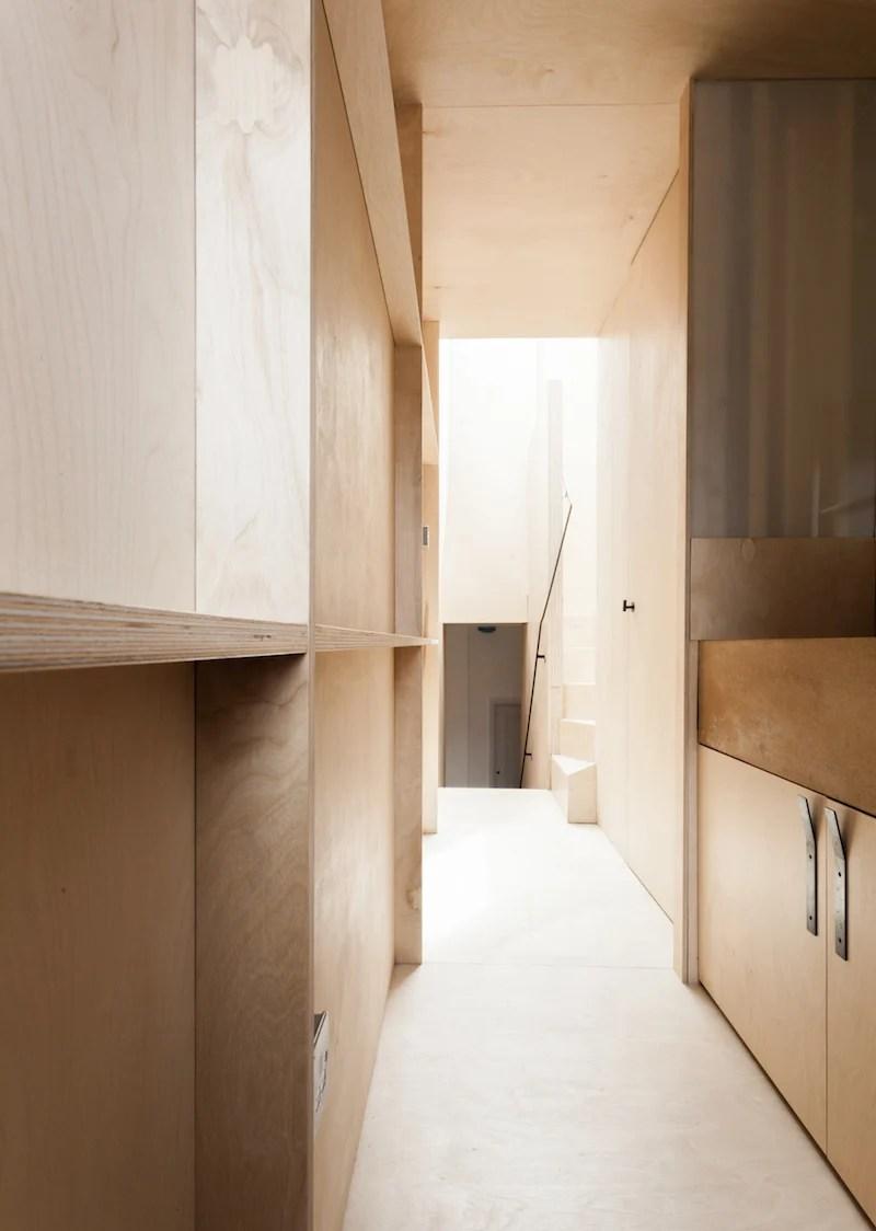 concrete kitchen floor store com plywood house by simon astridge | ignant.com