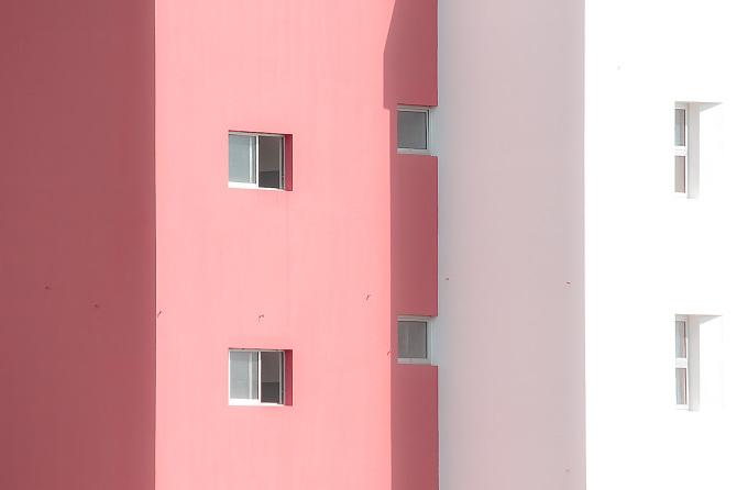 Nuno Andrade Captures Minimal Pastel Architecture Photos