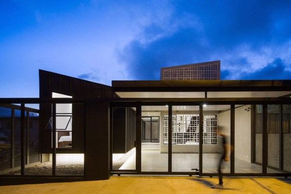 Two-part Costa Rican House Mg Design Studio